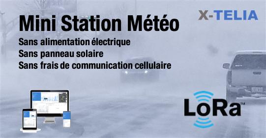 Mini Station Météo LoRa